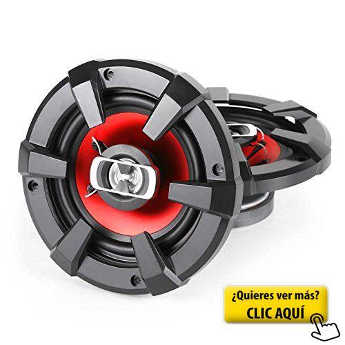 Auna CS-Red-4 - Pack de altavoces para coche, 400... #altavoces #coche