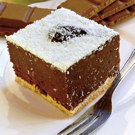 Se prepara in 30 de minte, se super delicioasa si foarte ieftina. Afla cea mai simpla reteta de prajitura cu ciocolata si biscuiti.   Timp de preparare: 30 m