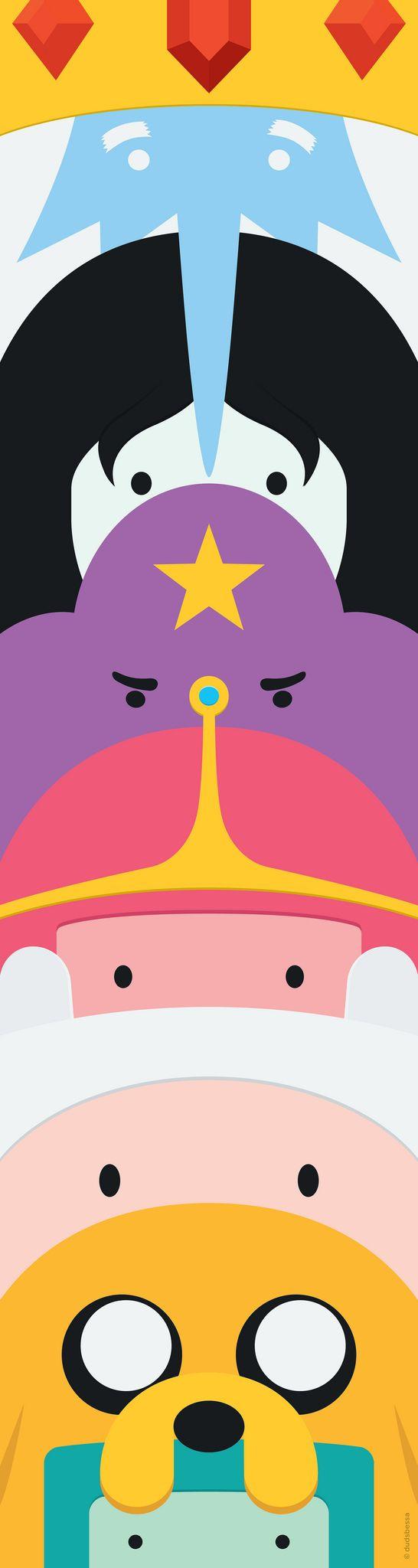 Más tamaños | Adventure Time Totem | Flickr: ¡Intercambio de fotos!