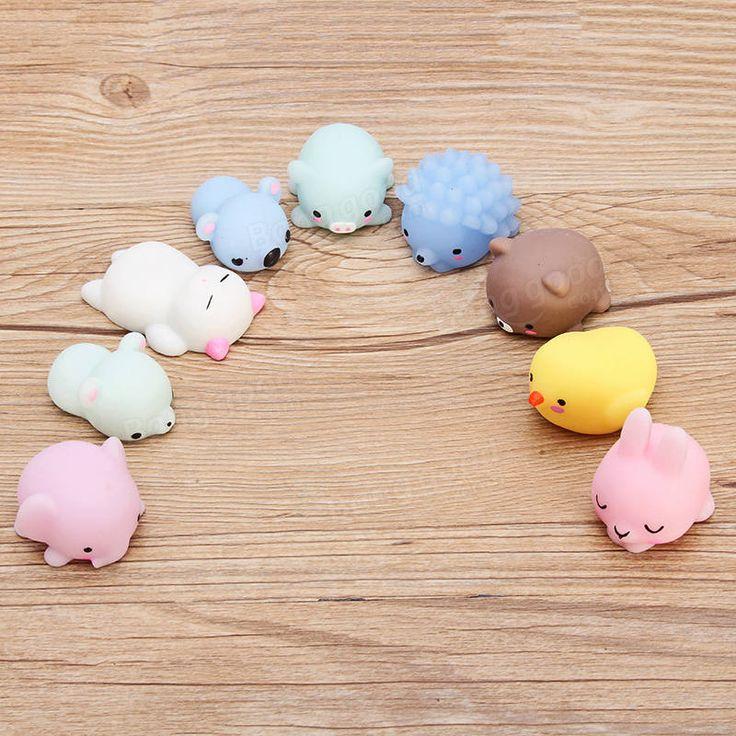 Hedgehog Mochi Squishy Squeeze Cute Healing Toy 4cm Kawaii