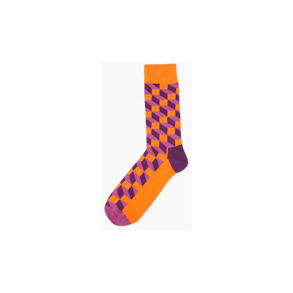 Fashion Argyle Diamonds Pattern Cotton Comfortable Mid-calf Sock ($5.26) ❤ liked on Polyvore featuring men's fashion, men's clothing, men's socks, men socks, white, mens white socks, mens thick socks, mens argyle socks, mens mid calf socks and mens socks