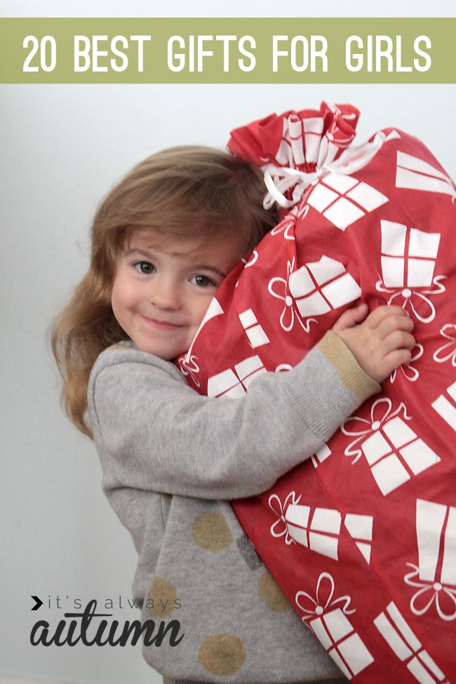 20 best #Christmas #gift #ideas for #girls | stop wasting money on presents that get broken, ignored, or thrown away two weeks after the holidays - buy one of these tried and true gifts instead! #gift #guide