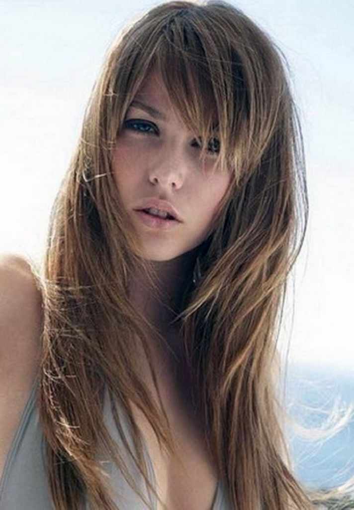 Haarschnitt Stile Für Lange Dünne Haare Frisuren Modelle Cabello