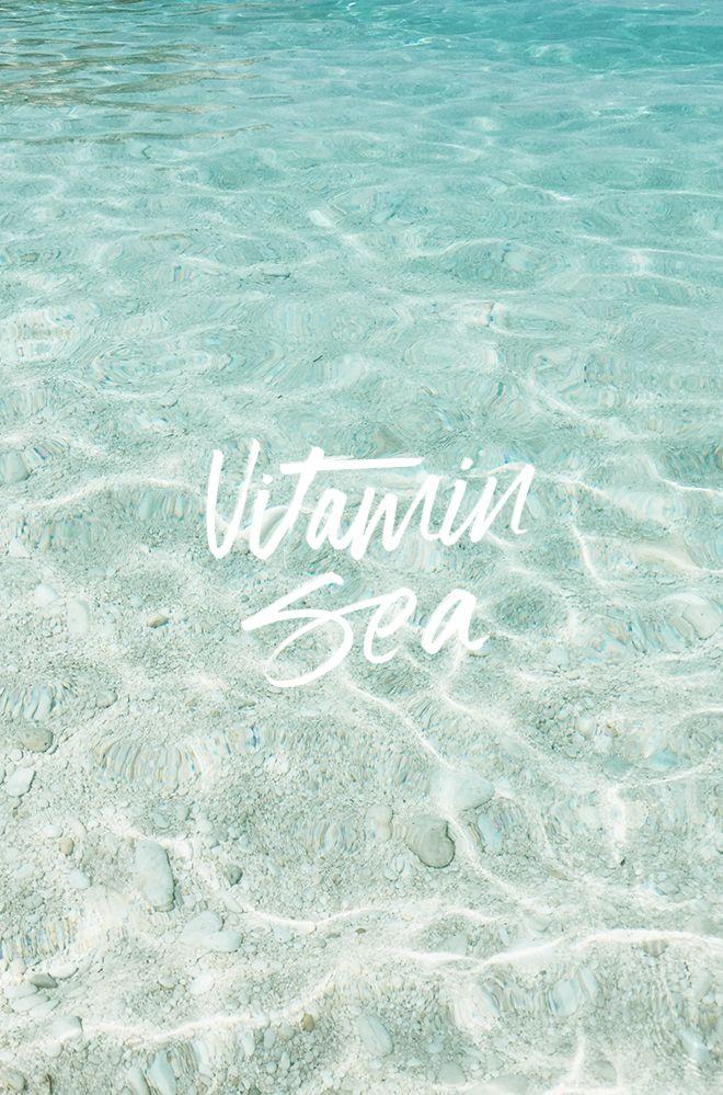 AT THE MOMENT: MORE VITAMIN SEA