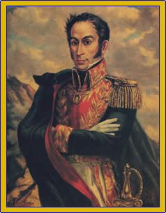 1819- Fighting for independence, Simón Bolivar defeats the Spanish at Boyaca. The republic of Gran Colombia (includes present day Colombia, Ecuador, Panama, and Venezuela) is created.