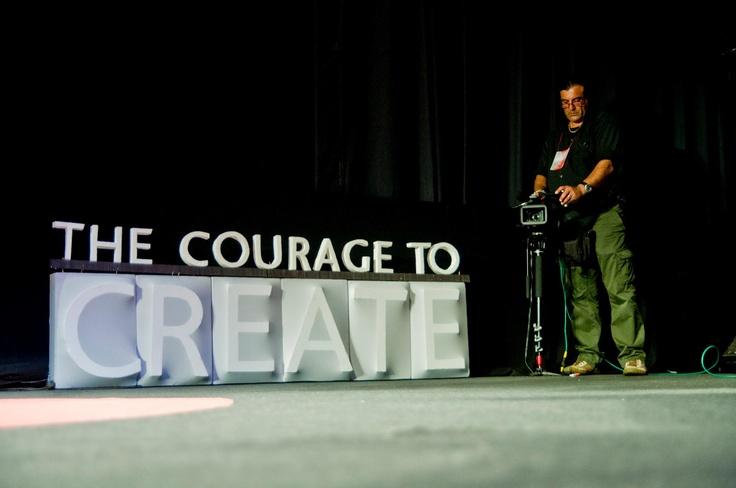 TEDxThessaloniki 2012 set design