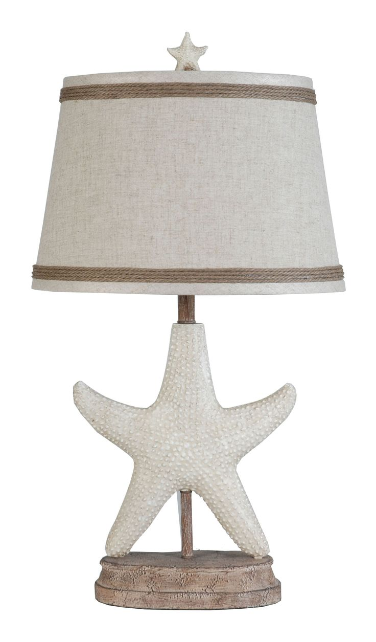 36 best coastal inspired images on pinterest table lamp table lps 124 polyresin starfish table lamp by lamps per se geotapseo Gallery