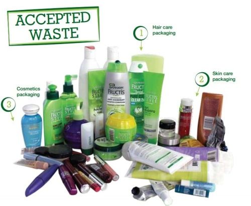 Personal Care & Beauty Accepted Waste