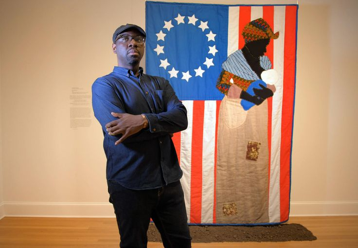 Stephen Towns' ravishing quilts inspired by the Nat Turner rebellion are showcased in a new show at the Baltimore Museum of Art. Supporters such as museum director Christopher Bedford predict a bright career for the local, well-liked artist.