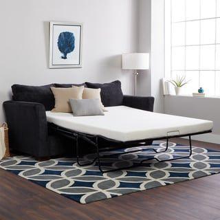 Select Luxury New Life 4.5-inch Full-size Memory Foam Sofa Bed Sleeper Mattress (Mattress Only)