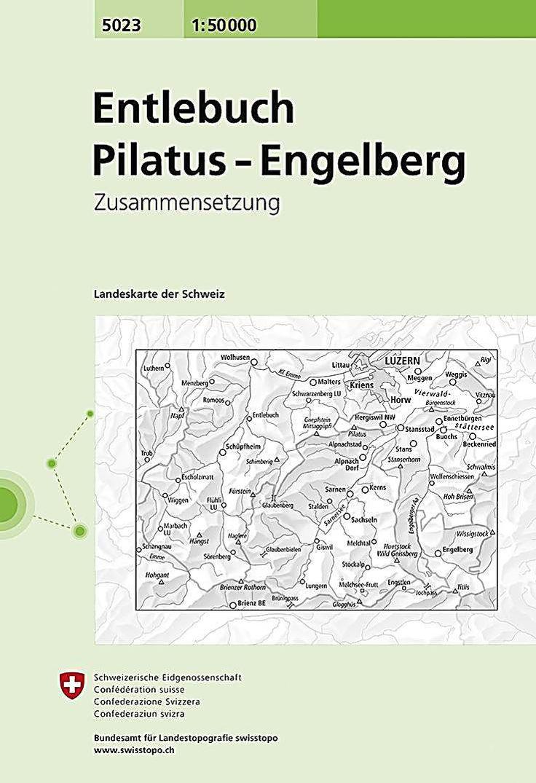 Landeskarte Der Schweiz Entlebuch Pilatus Engelberg Buch In