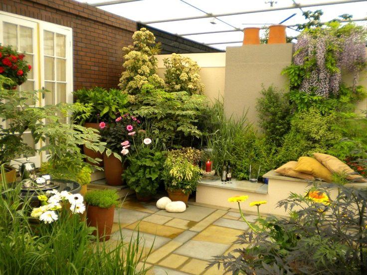 beautiful small patio idea