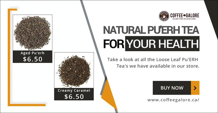 Looking for an organic PU'ERH tea? Look no further! Coffee Galore is proud to offer a selection of loose leaf organic PU'ERH Tea.