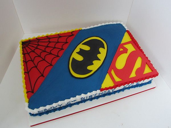 superhero cakes for kids | ll Bring Dessert - Birthdays - Cakes for Kids