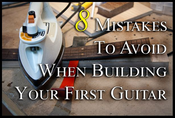 You want to build your first guitar!? You've been watching videos, reading about it and constantly thinking about it. I know how you feel. I can't think of a