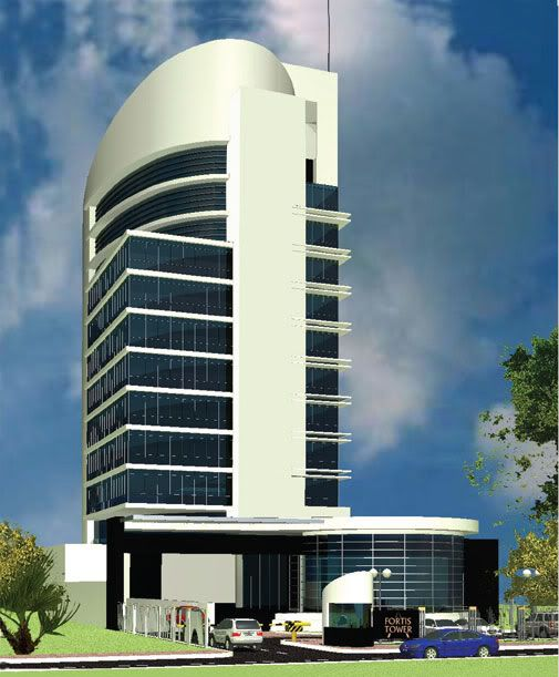 Delante Apartments: Fortis Tower, Nairobi's Best Looking Glass Skyscrapers
