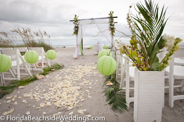 Florida Beach Wedding Decorations All Inclusive Packages By Floridabeachsideweddings