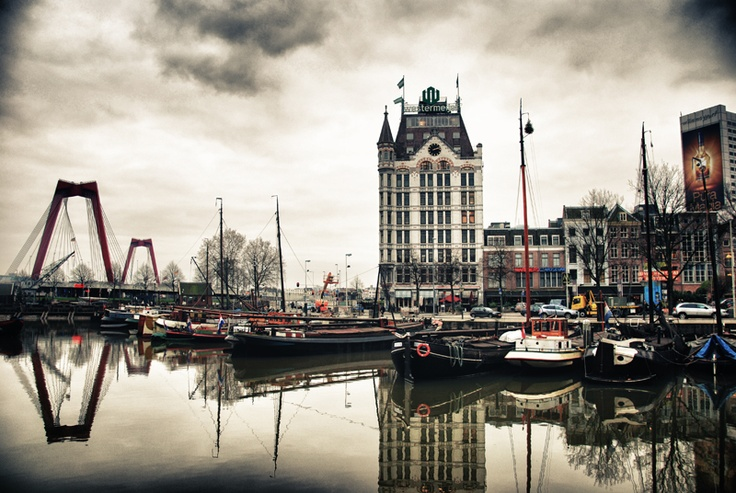 Het Witte Huis (The White House), Oude Haven, Rotterdam.
