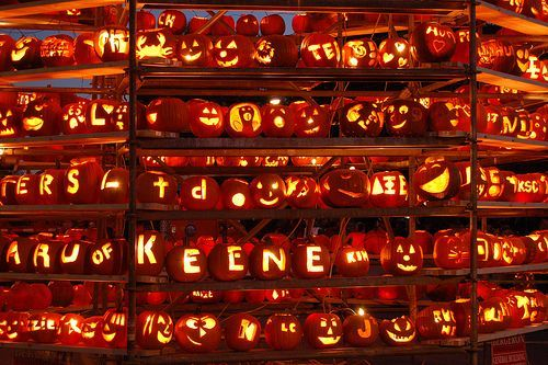 Keene Pumpkin Festival, New Hampshire October