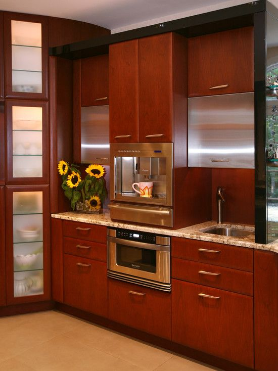 Kitchen Coffee Station Design Pictures Remodel Decor
