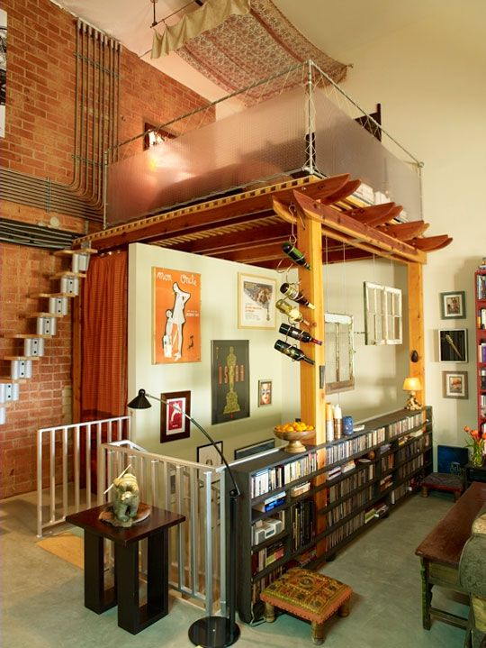 59 best way cool studio apartments images on Pinterest