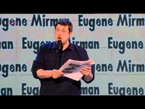 Eugene Mirman On Russell Howard's Good News - YouTube