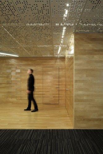 Juniper Networks / Valerio Dewalt Train Associates - goodbye ugly drop down ceiling panels!