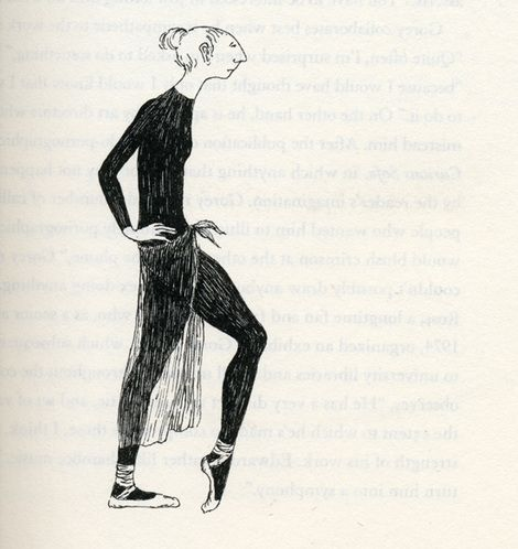 Imagine Edward Gorey in Fur Coat and Sneakers, Nightly, at NYCB | Tonya Plank