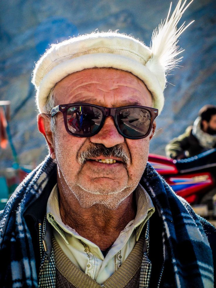 A pakistani man in Hunza valley in Northern Pakistan #pakistan #travel #portrait #face