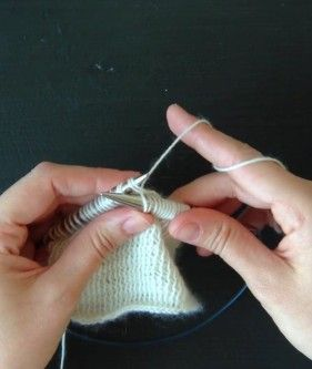 Twice Knitting. Crosshatch .Yes! This stitch can be worked flat… Right Side: *K2tog dropping only the first stitch off the left needle, repeat from * until one stitch remains, k1. Wrong Side: *P2tog dropping only the first stitch off the left needle, repeat from * until one stitch remains, p1.  - See more at: http://www.purlsoho.com/create/2015/05/08/crosshatch-cowl/#sthash.ClWE5Hvy.dpuf