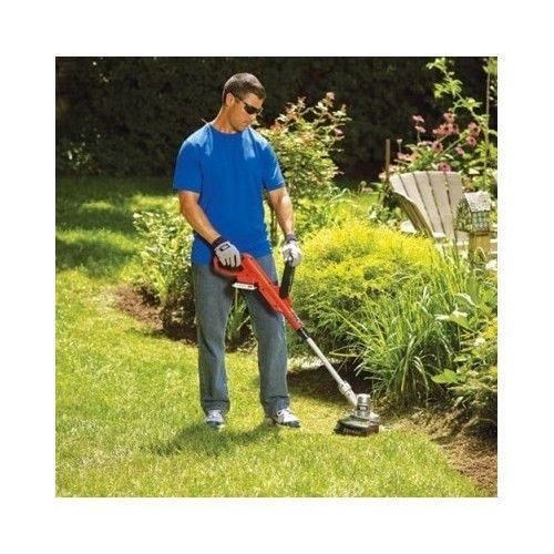 Cordless Edger Trimmer Black Decker Weed Wacker Eater Yard Garden Power Tool