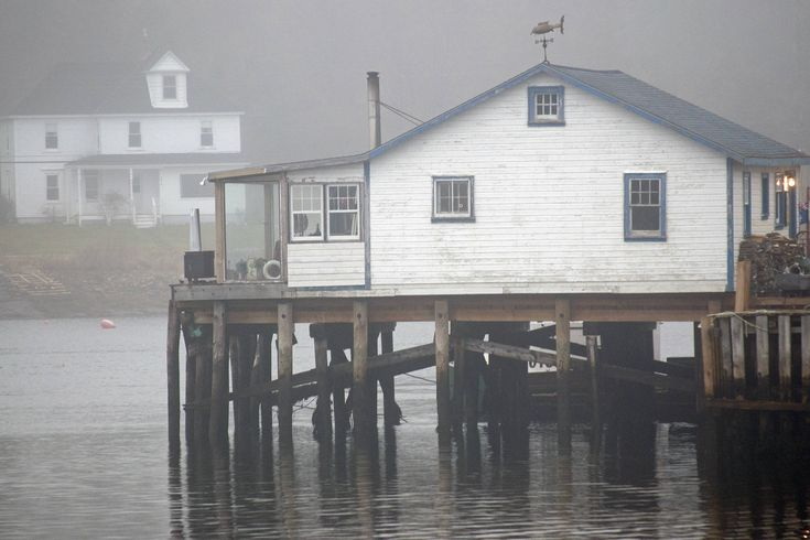 House on water Photo, Water Frontage Photo, Fine Art Photography, Riverside Photo, Foggy Winter Day Art,Ritceys Cove Photo,Nova Scotia Photo by ShipsbellPhotography on Etsy