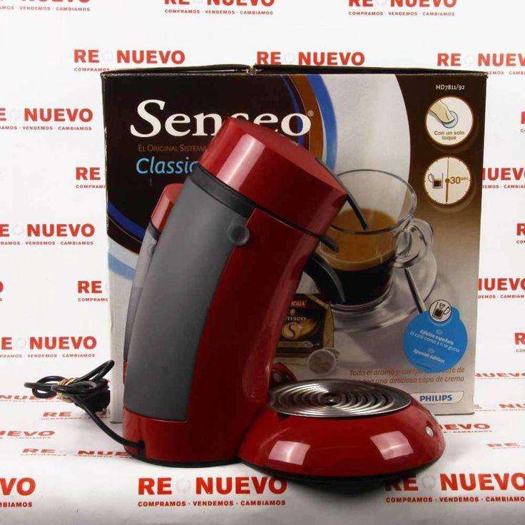 #Cafetera #PHILIPS #SENSEO Roja en caja E269532 de segunda mano | Tienda de Segunda Mano en Barcelona Re-Nuevo #segundamano