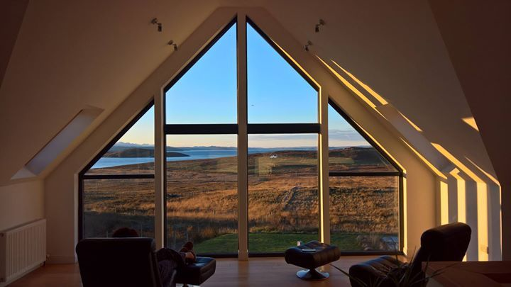 views from Stac Polly Cottage and Locholly Lodge check out our website for availability and prices.  5 star with hot tub sauna and fantastic views.  Pets are welcome.  http://ift.tt/2bxBaFI