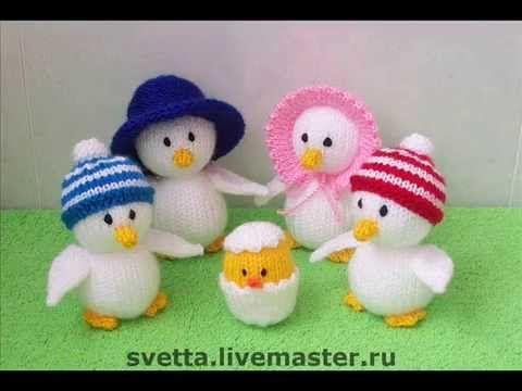Вязаные игрушки.Пасхальные сувениры от Светланы Забелиной.Сrochet Тoys.