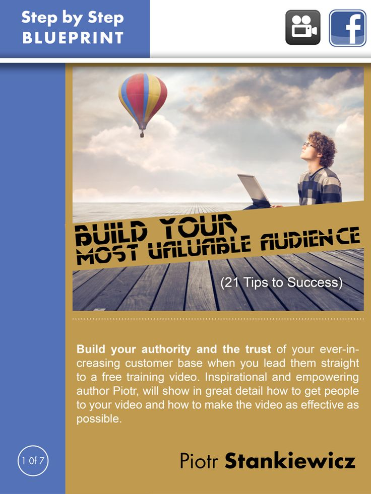 Build your authority and the trust of your ever-increasing customer base when you lead them straight to a free training video. Inspirational and empowering author Piotr, Internet entrepreneur and founder/CEO of ValuedMarketer, will show in great detail how to get people to your video and how to make the video as effective as possible.  More info: http://magazine.valuedmarketer.com/  iTunes: https://itunes.apple.com/us/app/valuedmarketer-magazine-become/id709724297?l=pl&ls=1&mt=8