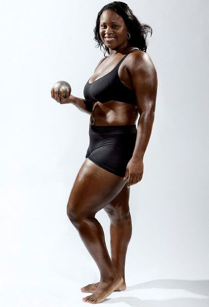 Michelle Carter, Shot Putter, In The 2009 Espn Body Issue -7786