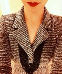 Red Lips, Necklace.