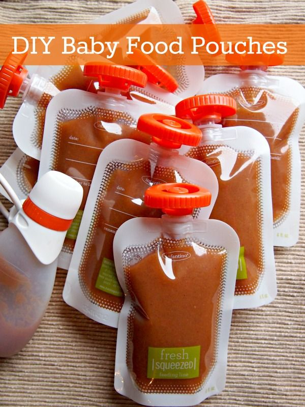 Make Your Own Baby Food Pouches with Fresh Squeezed by ...