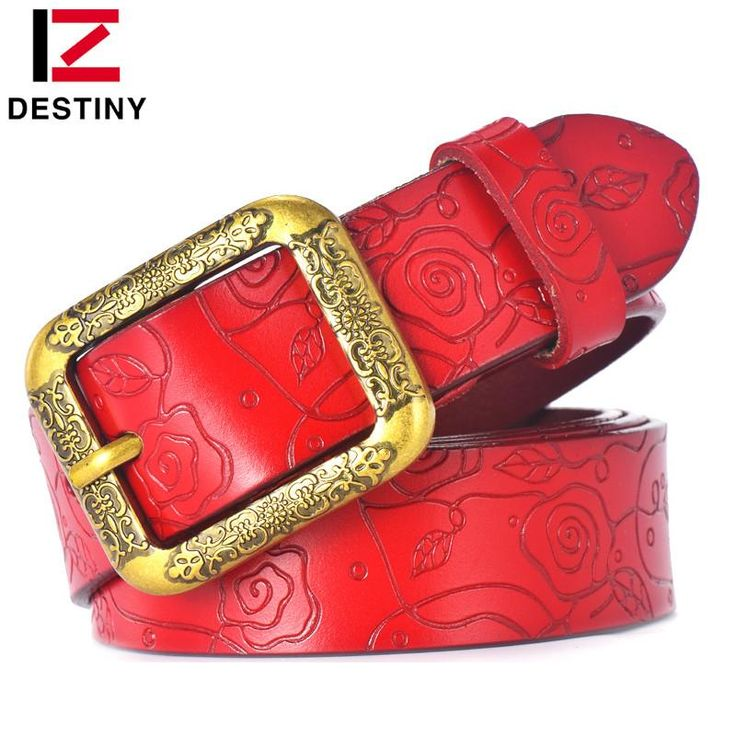 DESTINY Designer Belts Women High Quality Luxury Brand Ceinture Femme Casual Girls Lady Flower Belt Leather For Jeans Off White  #me #men #bags #selfie #baby #belts #newarrivals #wedding #sale #women #smartwatch #gift #fashion #gloves #love