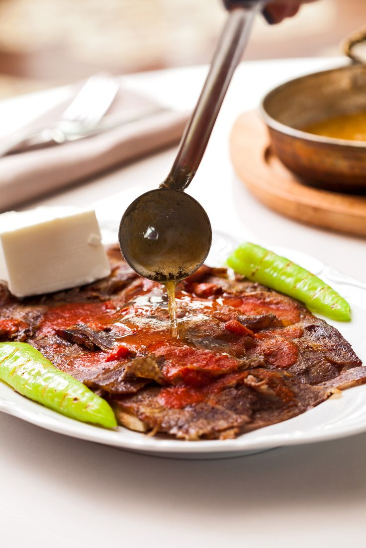Iskender Kebap - famous meat northwestern Turkey