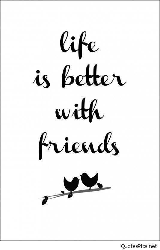 Afbeeldingsresultaat voor life is better with friends