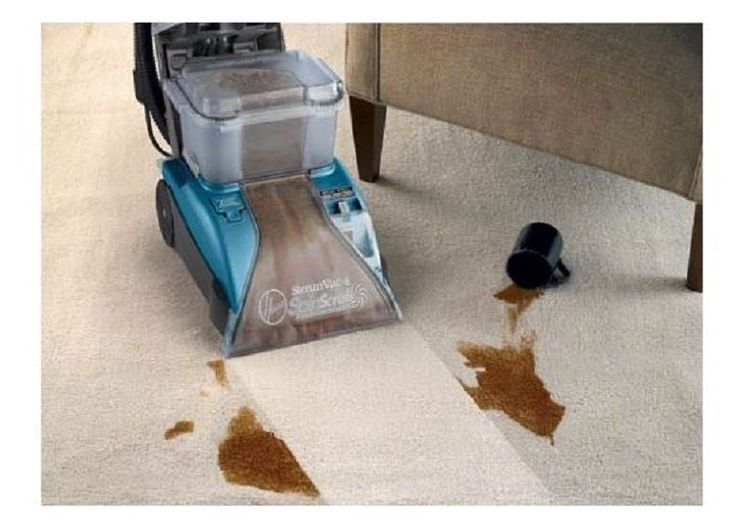Steam Rug Shampooer Carpet Cleaner Heated Vacuum Deep Clean Carpets Floor Dry #Hoover