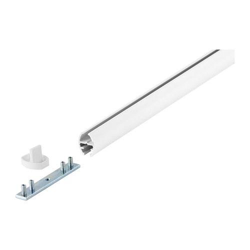 KVARTAL Gardinenschiene 1 Lufig Fr DECKENTRGER Von IKEA 140cm 7