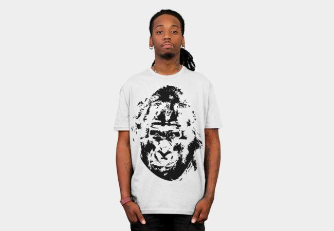 ape gorilla T-Shirt - Design By Humans