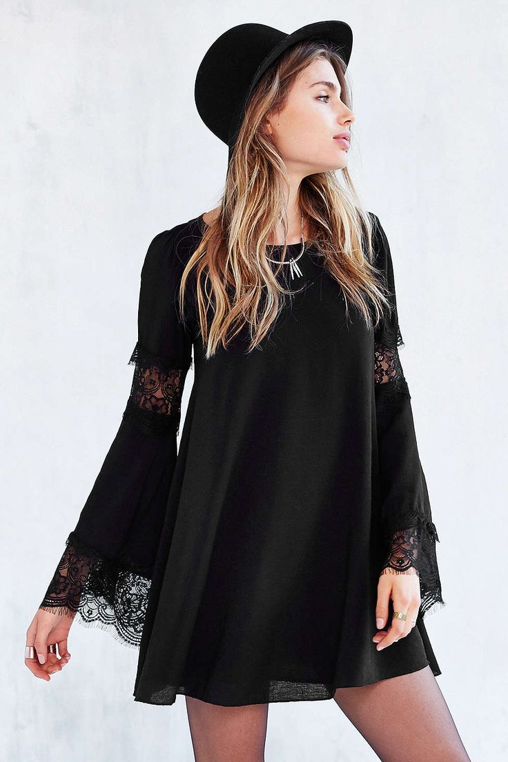For Love & Lemons Ribbed Festival Dress
