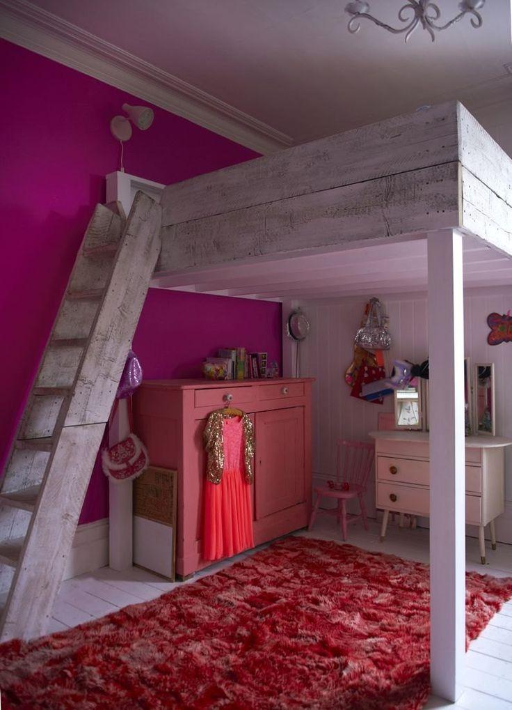 remarkable little girls bunk beds bedroom ideas | 148 best images about Loft Beds on Pinterest | Loft beds ...