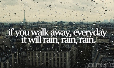 It Will Rain- Bruno Mars