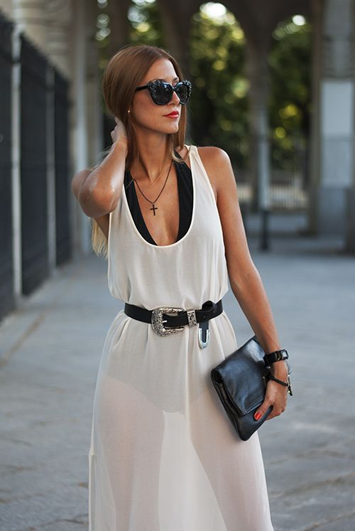 Made With Fashion | a fashion blog by Andrea Gomez: BLACK & WHITE