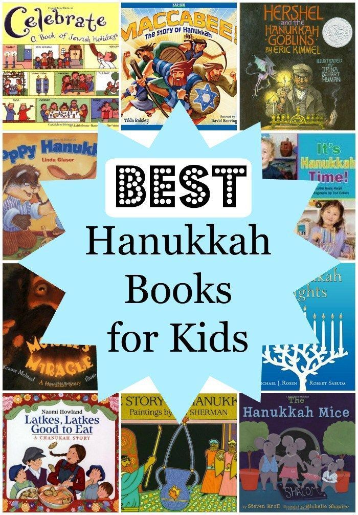Best Hanukkah Books for Kids- recommended by Jewish teachers, moms, and friends.